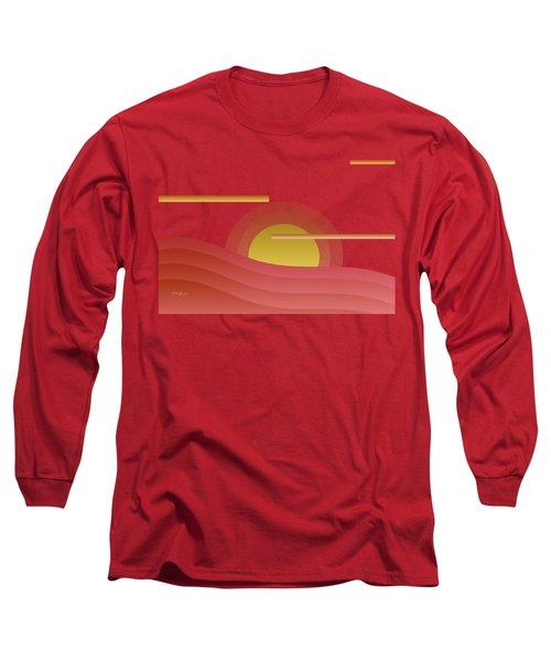 Summer Sunset Long Sleeve T-Shirt