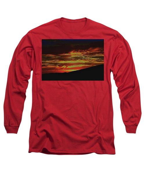 Summer Sunset Rain Long Sleeve T-Shirt