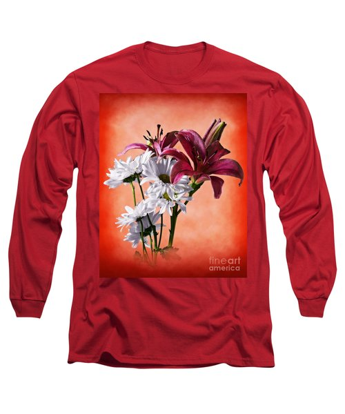Summer Wild Flowers  Long Sleeve T-Shirt