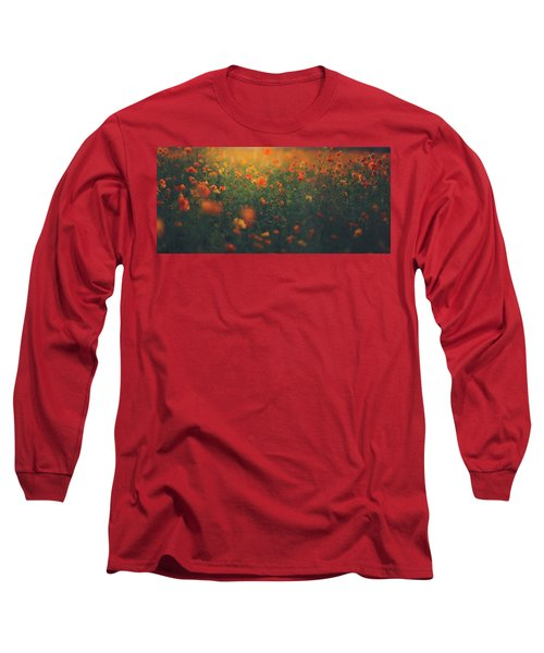 Long Sleeve T-Shirt featuring the photograph Summertime by Shane Holsclaw
