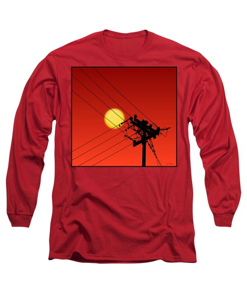 Sun And Silhouette Long Sleeve T-Shirt
