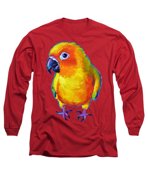 Sun Conure Parrot Long Sleeve T-Shirt