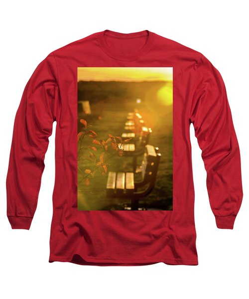 Sun Drenched Bench Long Sleeve T-Shirt