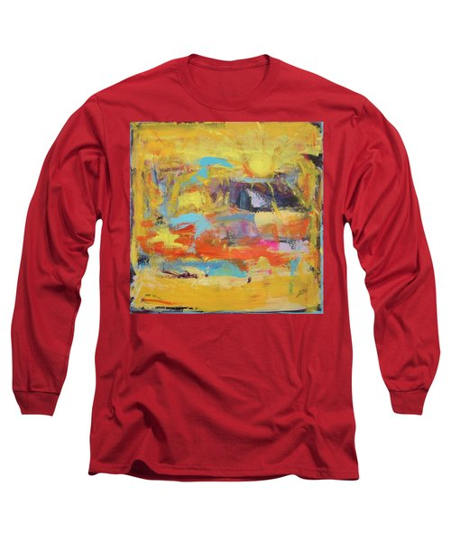 Sun Overlapping Long Sleeve T-Shirt