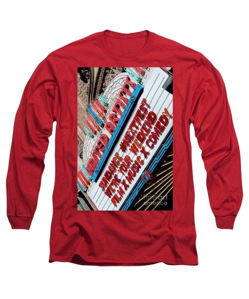 Sundance Next Fest Theatre Sign 2 Long Sleeve T-Shirt