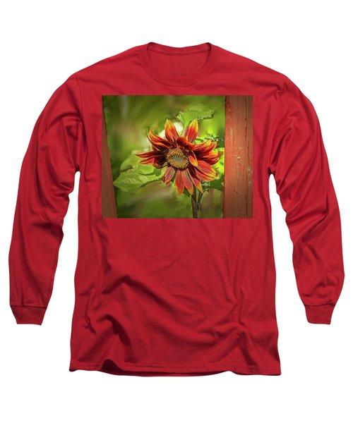 Sunflower #g5 Long Sleeve T-Shirt
