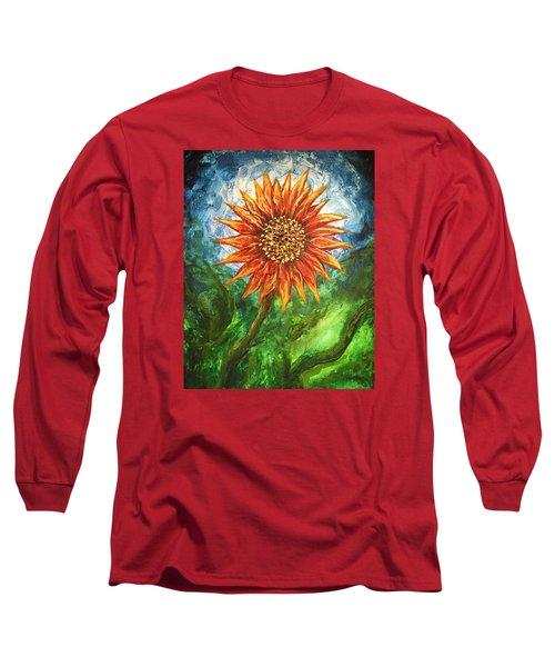 Sunflower Joy Long Sleeve T-Shirt