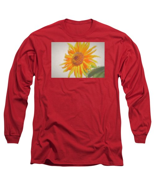 Sunflower Painting Long Sleeve T-Shirt