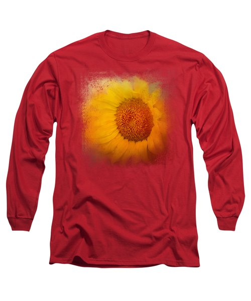 Sunflower Surprise Long Sleeve T-Shirt