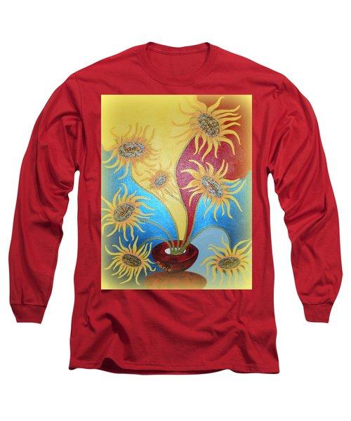 Sunflowers Symphony Long Sleeve T-Shirt