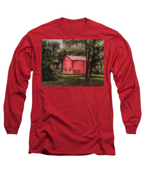 Sunlit Barn Long Sleeve T-Shirt