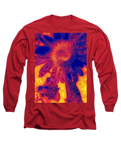Sunny And Wild Long Sleeve T-Shirt by Stephen Anderson