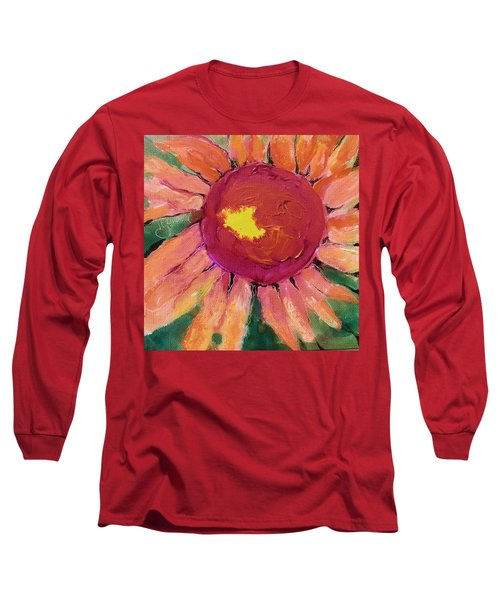 Sunny Flower Long Sleeve T-Shirt