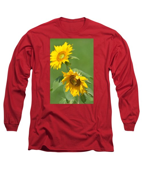 Sunny Side Up 1 Long Sleeve T-Shirt by Teresa Tilley