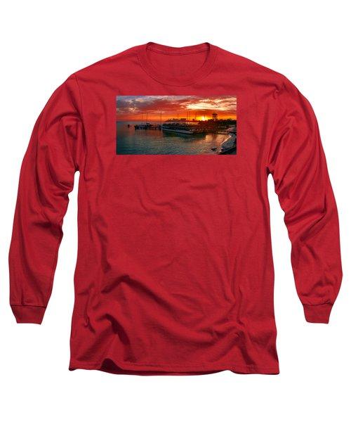 Sunrise In Cancun Long Sleeve T-Shirt