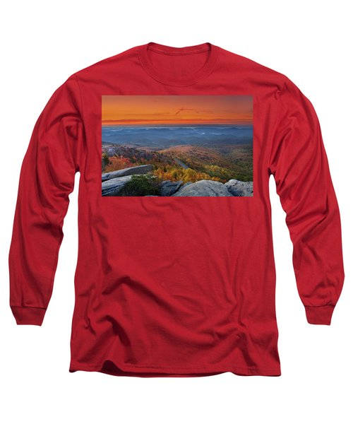 Sunrise On Rough Ridge  Long Sleeve T-Shirt