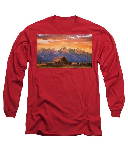 Sunrise On The Ranch Long Sleeve T-Shirt