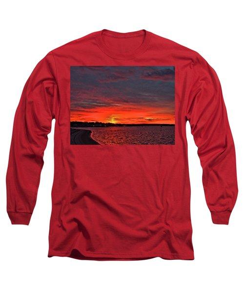 Sunrise Onset Pier Long Sleeve T-Shirt