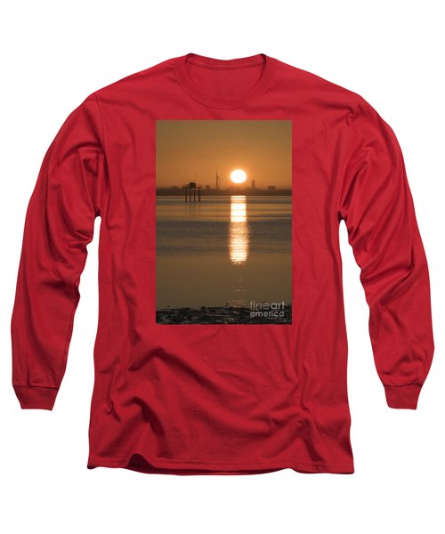 Sunrise Over Portsmouth Long Sleeve T-Shirt