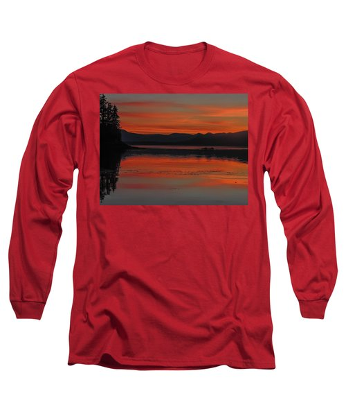 Sunset At Brothers Islands Long Sleeve T-Shirt