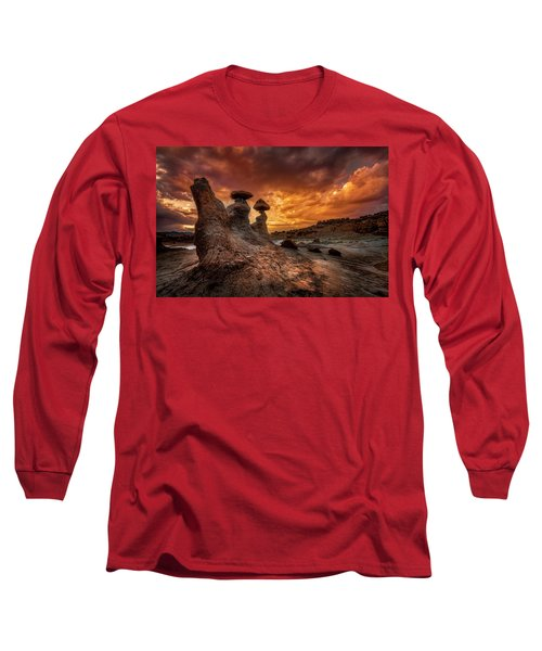 Sunset At Goblin Valley Long Sleeve T-Shirt