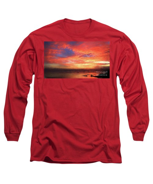 Sunset At The Beach Long Sleeve T-Shirt