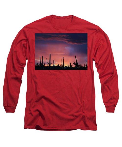 Sunset Colors Long Sleeve T-Shirt