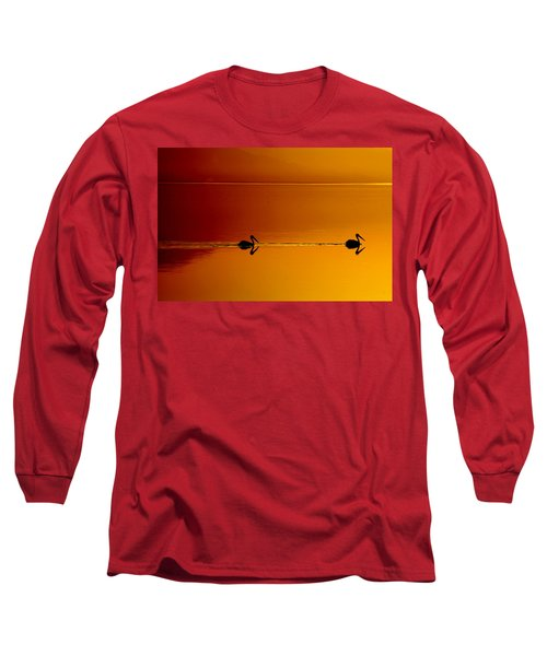 Long Sleeve T-Shirt featuring the photograph Sunset Cruising by Laurie Search