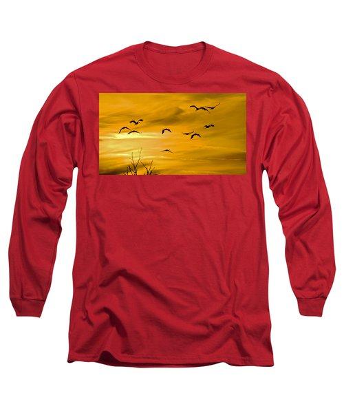 Sunset Fliers Long Sleeve T-Shirt
