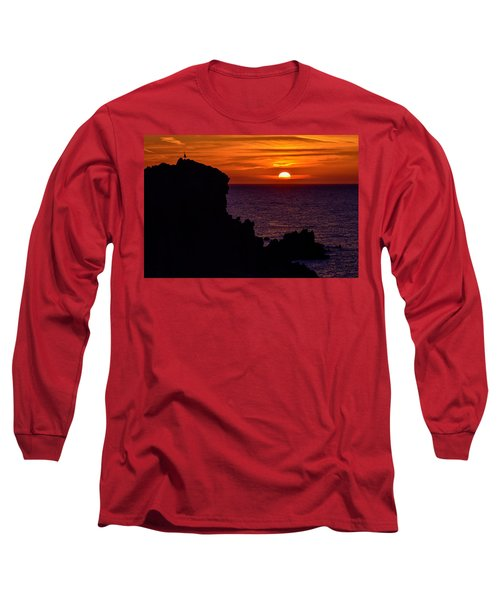 Sunset From Costa Paradiso Long Sleeve T-Shirt