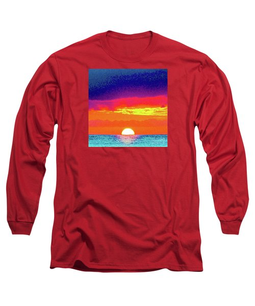 Sunset In Abstract 500 Long Sleeve T-Shirt