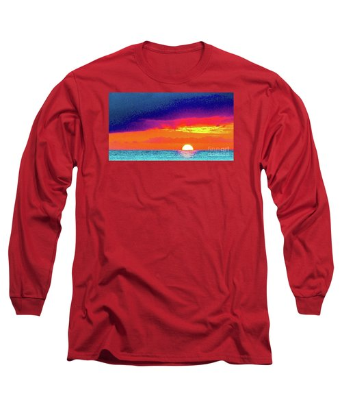 Sunset In Abstract  Long Sleeve T-Shirt