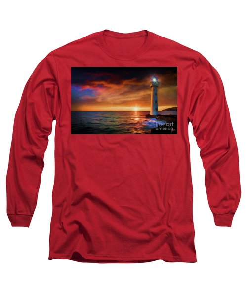 Sunset In The Bay Long Sleeve T-Shirt