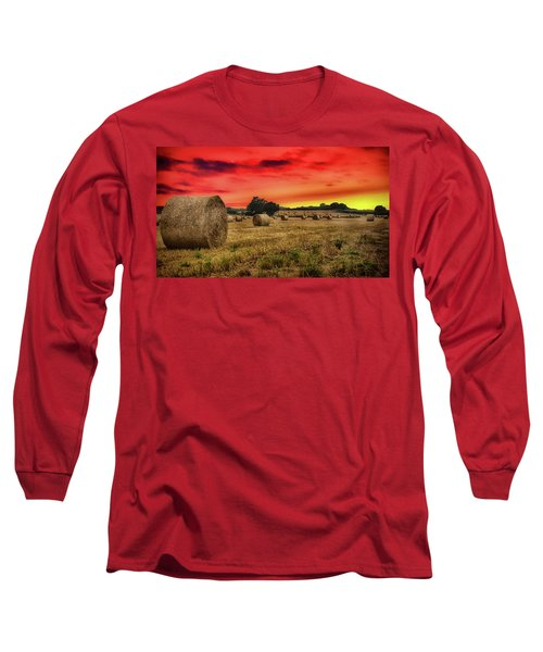 Sunset In The Hay Long Sleeve T-Shirt