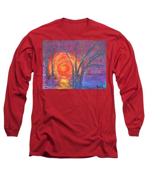 Sunset Long Sleeve T-Shirt by Karin Eisermann