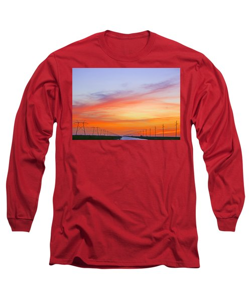 Sunset Over The Glades Long Sleeve T-Shirt