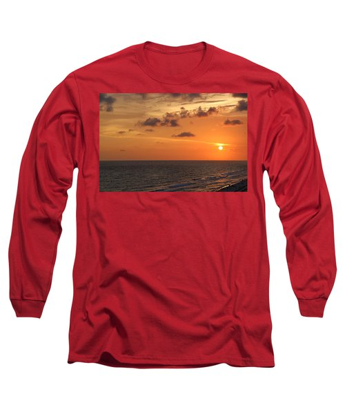 Sunset Panama City Florida Long Sleeve T-Shirt