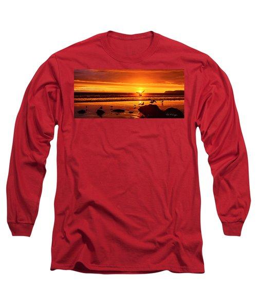 Sunset Surprise Pano Long Sleeve T-Shirt