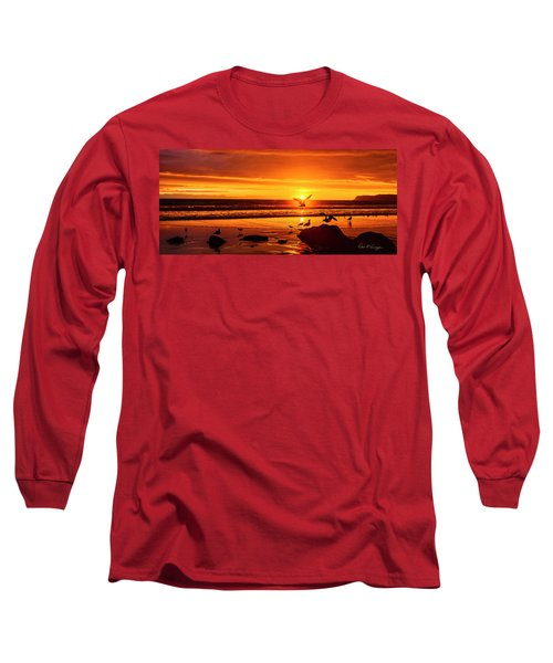 Sunset Surprise Pano Long Sleeve T-Shirt