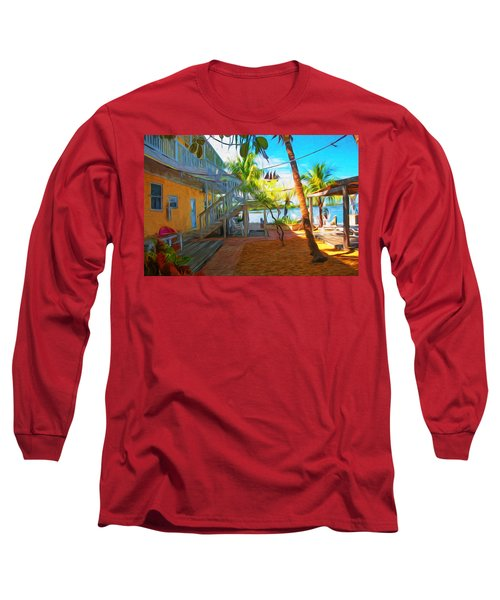 Sunset Villas Patio Long Sleeve T-Shirt
