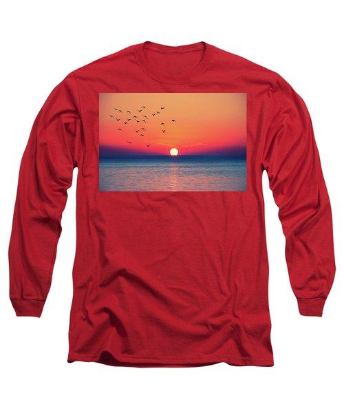 Sunset Wishes Long Sleeve T-Shirt