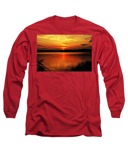 Sunset Xxiii Long Sleeve T-Shirt by Joe Faherty