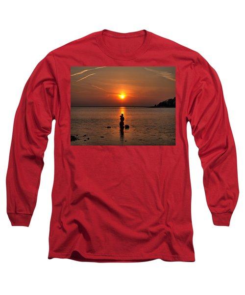 Sunset Zen Long Sleeve T-Shirt