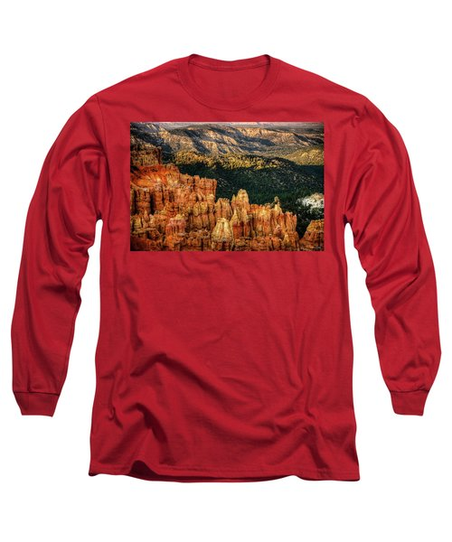 Sunsets In The Canyon Long Sleeve T-Shirt by Rebecca Hiatt