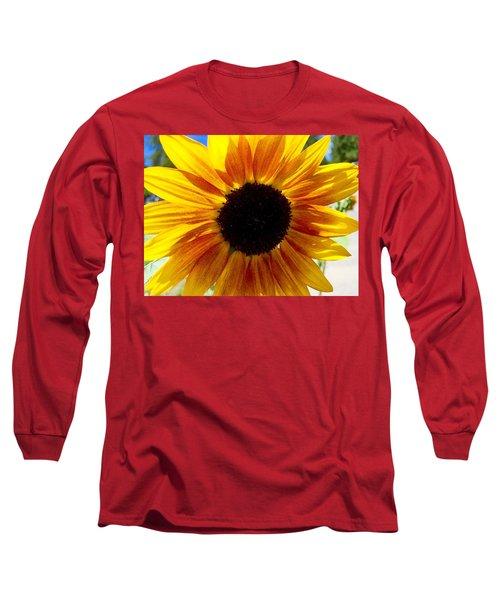 Sunshine Sunflower Long Sleeve T-Shirt