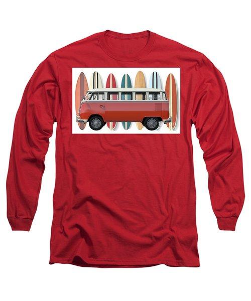 Surfer Van Tee Long Sleeve T-Shirt