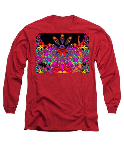 Long Sleeve T-Shirt featuring the digital art Surrender by Robert Orinski