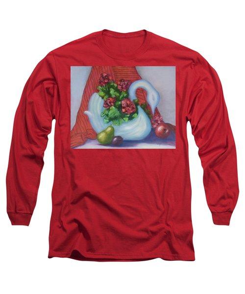 Swanza's Swan Long Sleeve T-Shirt