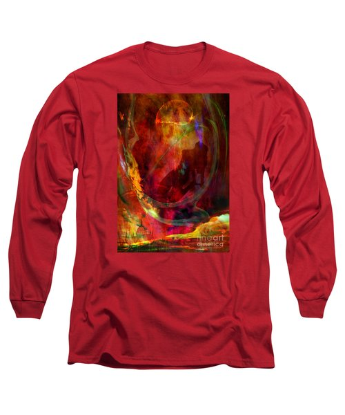 Long Sleeve T-Shirt featuring the digital art Sweet Dream by Johnny Hildingsson
