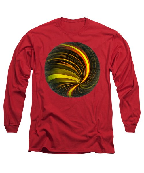 Swirls And Curls Long Sleeve T-Shirt